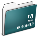 Adobe, Folder, Robohelp, x Icon