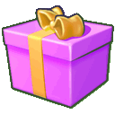 Giftbox, Purple Icon