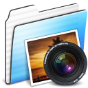 Folder, Photo, Stripe Icon