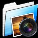Folder, Photo, Stripe Icon