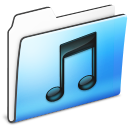 Folder, Music, Smooth Icon