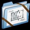 Blue, Sketch Icon