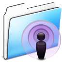 Folder, Podcast, Smooth Icon