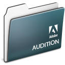 , Adobe, Audition, Folder Icon