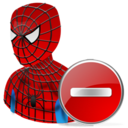 Delete, Spiderman Icon