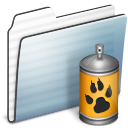 Folder, Graphite, Sidebar, Spray, Stripe Icon