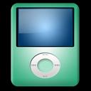 Ipod, Lime, Nano Icon