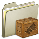 Box, Lightbrown, Wip Icon