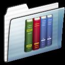 Folder, Graphite, Library, Stripe Icon