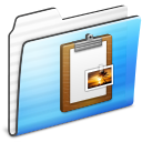 Clipboard, Folder, Stripe Icon
