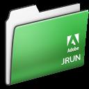 , Adobe, Folder, Jrun Icon