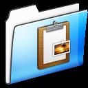 Clipboard, Folder, Smooth Icon