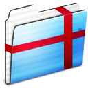 Folder, Package, Sidebar, Stripe Icon