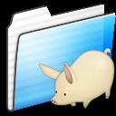 Folder, Stripe, Umasouda Icon