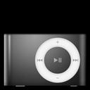 Black, Ipod, Shuffle Icon