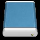 Blue, Drive, External Icon