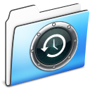 Folder, Smooth, Timemachine Icon