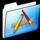 Applications, Folder, Stripe Icon