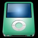 Alt, Ipod, Lime, Nano Icon