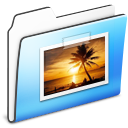 Folder, Pictures, Smooth Icon