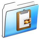 Clipboard, Folder, Sidebar, Smooth Icon
