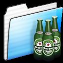Beer, Folder, Stripe Icon