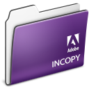 Adobe, Cs3., Folder, Incopy Icon