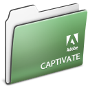 , Adobe, Captivate, Folder Icon