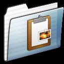 Clipboard, Folder, Graphite, Sidebar, Stripe Icon