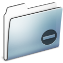 Folder, Graphite, Private, Smooth Icon