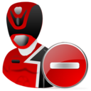 Delete, Powerranger Icon