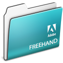 , Adobe, Folder, Freehand Icon