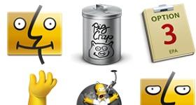 Simpsons Icons