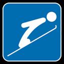 Icon, Jumping, Ski Icon