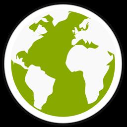 Globe Icon Midori Icon Download Free Icons