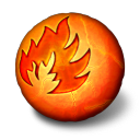 Fire, Orbz Icon