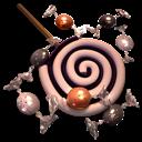 Bonbons, Icon, Spiralblack Icon