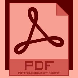 Icon, Pdf Icon