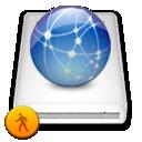 Idisk, Network, Public Icon