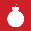 Christmas, Icon, Ornament Icon