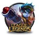 Girl, Rocket, Tristana Icon