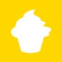 Christmas, Cupcake, Icon Icon