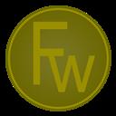 Adobe, Fw, Icon Icon