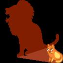 Lion, Shadow Icon
