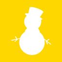 Christmas, Icon, Snowman Icon