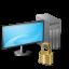Locked, Vista, Workstation Icon