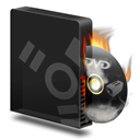 Burner, Burning, Dvd, Firewire Icon