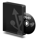 Burner, Dvd, Usb Icon