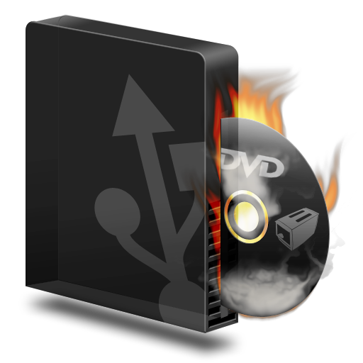 Burner, Burning, Dvd, Usb Icon