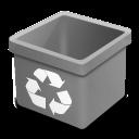 Dsquared, Empty, Grey, Trash Icon